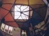 Ansicht in die Kuppel mit Fenster